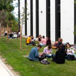 Dés étudiants sur le campus de l'école de Design EEGP à Angers